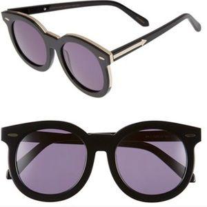 Karen Walker Super Duper Thistle 53mm Sunglasses